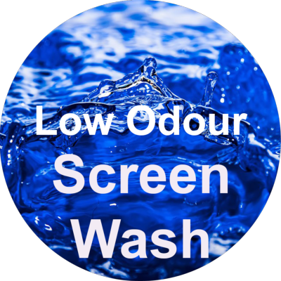 Low Odour Screen Wash