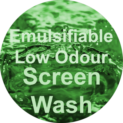 Emulsifiable Low Odour Screen Wash